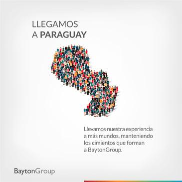 Bayton llega a Paraguay